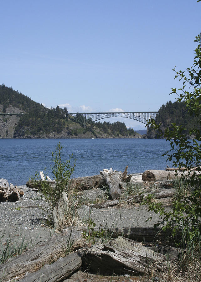 Deception Pass Bridge Photograph - Deception Pass Bridge IIi by Mary Gaines