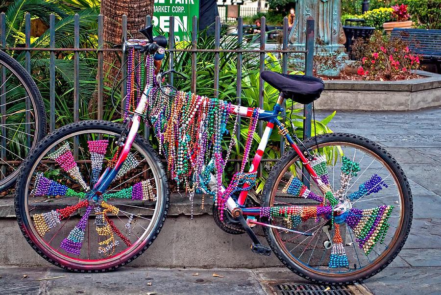 Bike Photograph - Decked Out by Steve Harrington