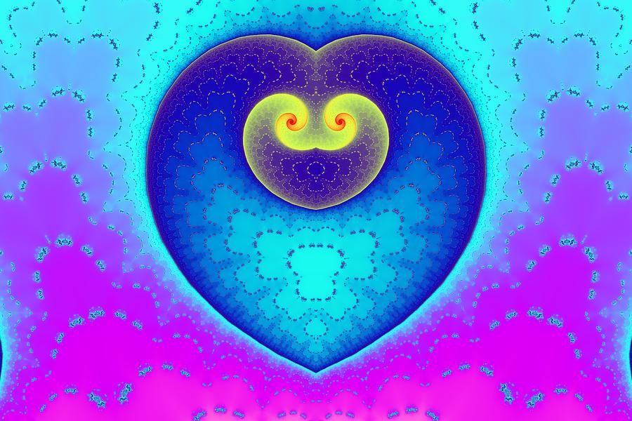 Decorated Heart Digital Art