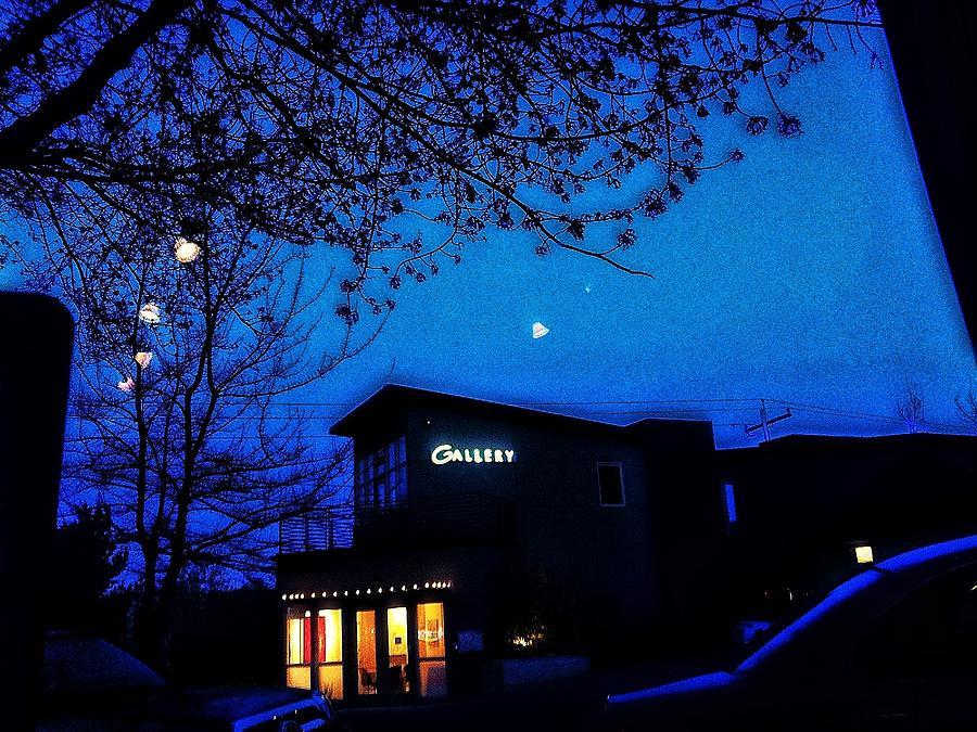 Deep Blue Night Photograph
