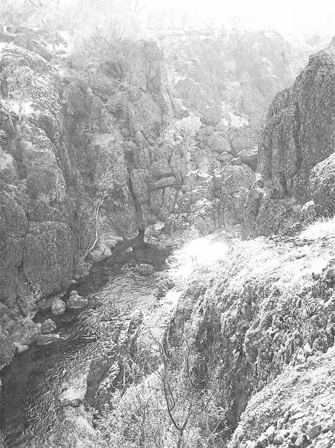 Deep Canyon Photograph