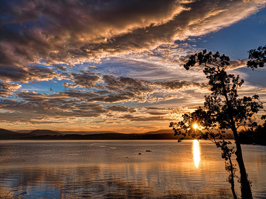 Deep Cove Sunset Photograph By Brian Gammon