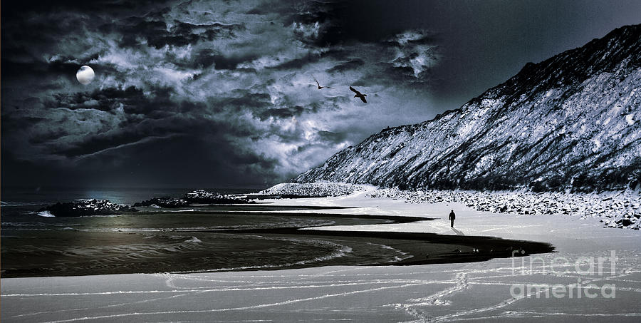 Adventure Photograph - Deep Into That Darkness  by Stelios Kleanthous