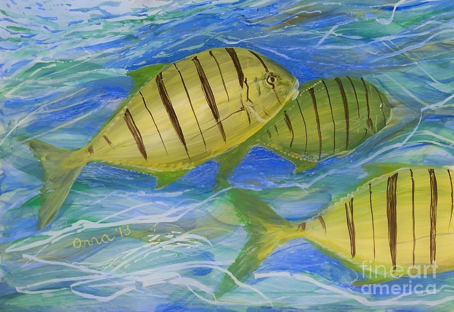 Deep Ocean by Anna Skaradzinska