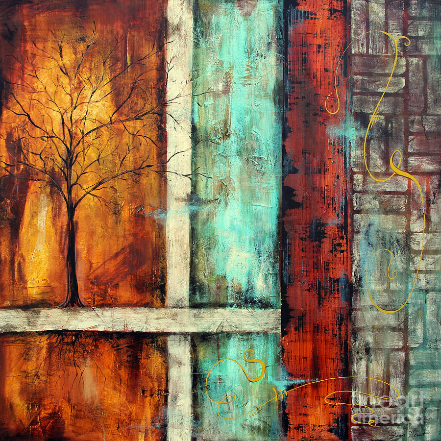 Painting Painting - Deep Roots-a by Jean Plout