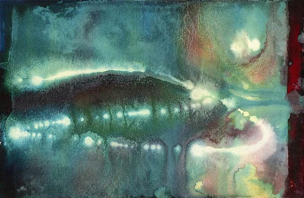 Deep Sea Florescence Painting by Sperry Andrews