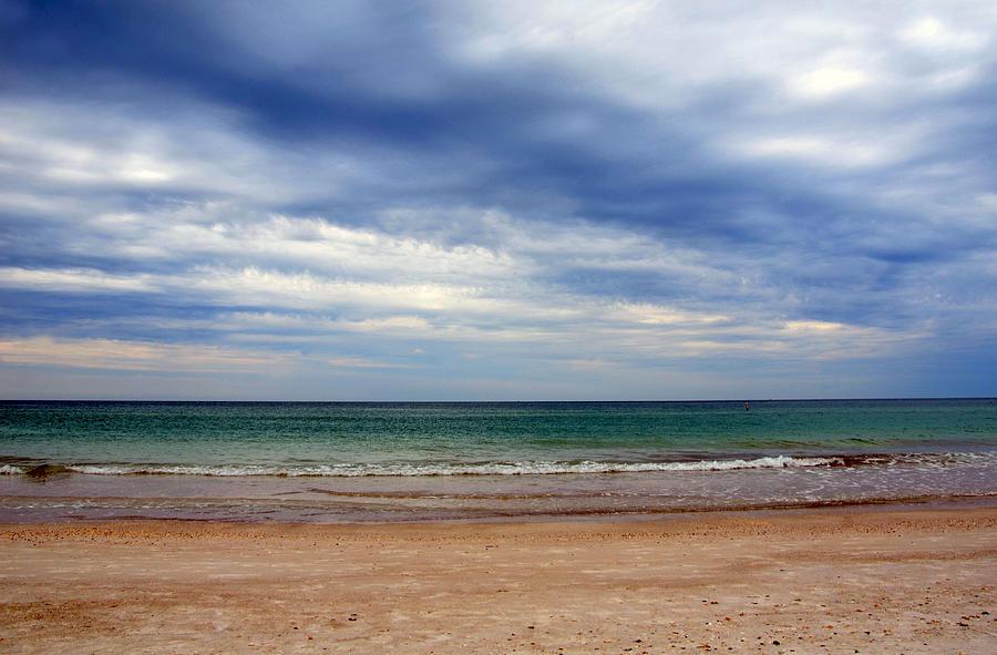 Beach Photograph - Deep Sky by Amanda Vouglas