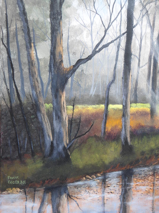 Trees Painting - Deep Woods by Frank Cochran