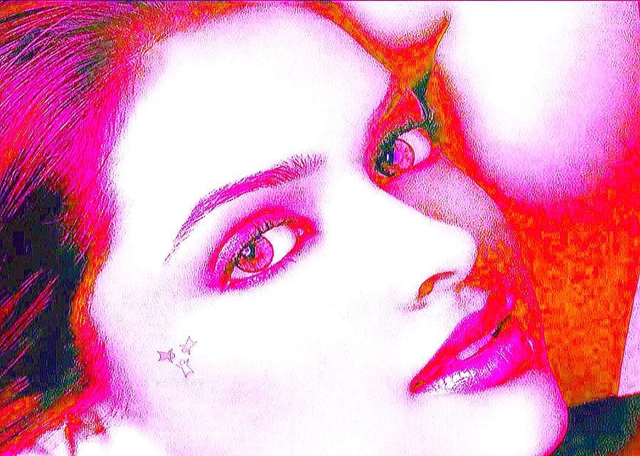 Acrylic On Canvas Painting - Deepika Padukone by Ricky Nathaniel