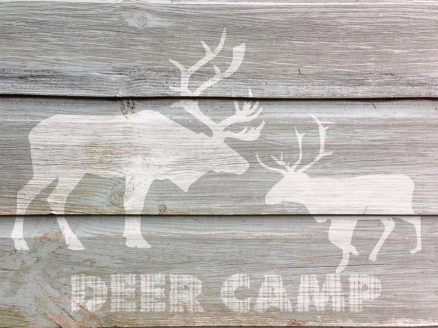 Deer Camp Digital Art