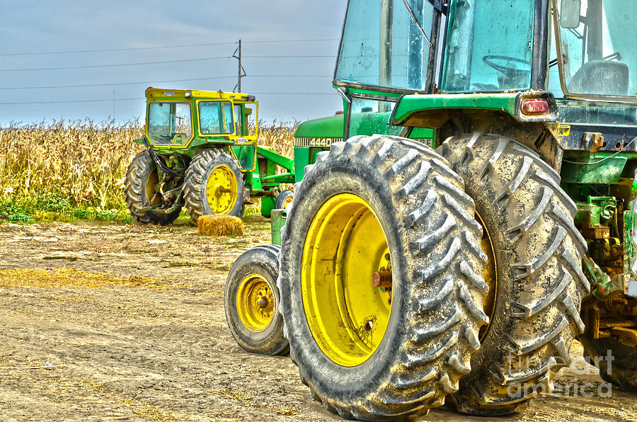 Tractor Photograph - Deere 2 by Baywest Imaging