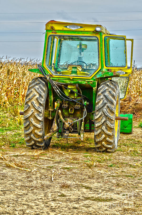 Tractor Photograph - Deere 3 by Baywest Imaging
