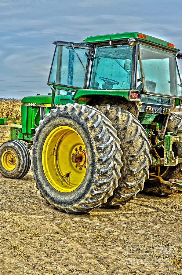 Tractor Photograph - Deere 4 by Baywest Imaging