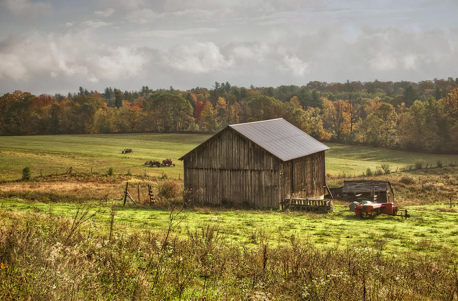 Landscape Photograph - Deerfield Countryside by Diana Nault