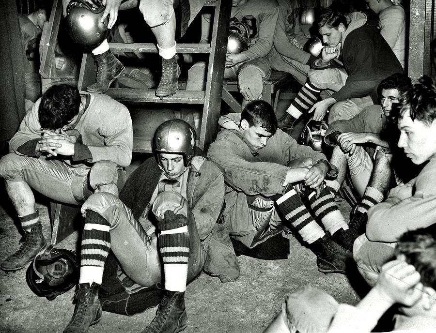 High School Football Photograph - Defeated by Benjamin Yeager