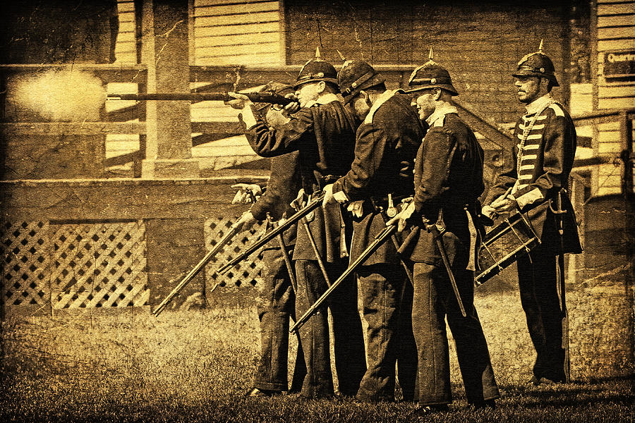 History Photograph - Defending Fort Mackinac by Lincoln Rogers