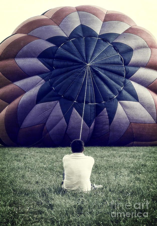 Deflated Photograph - Deflated by Edward Fielding