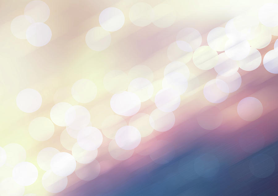 Defocused Lights Photograph by Liangpv