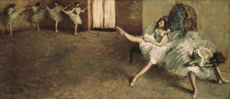 Horizontal Photograph - Degas, Edgar 1834-1917. Before by Everett