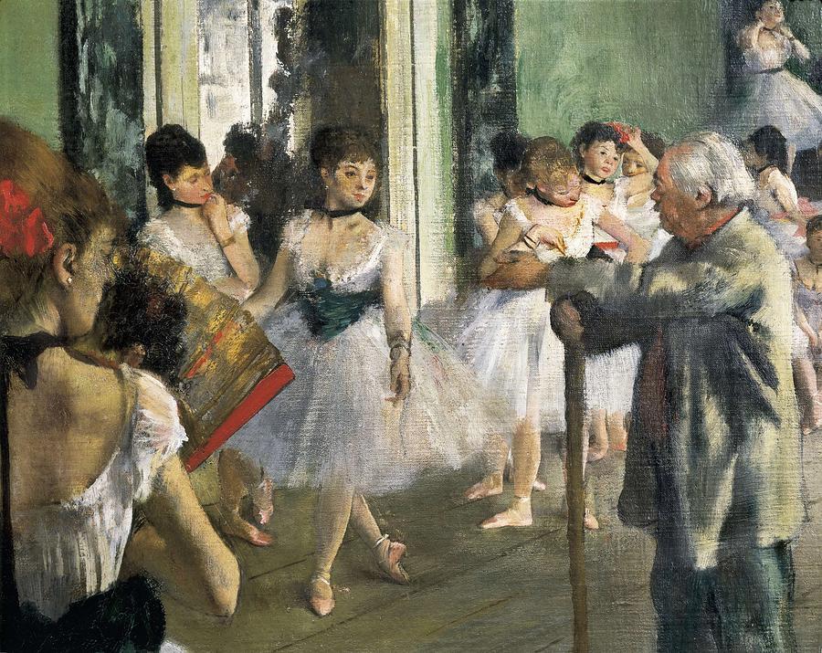 Horizontal Photograph - Degas, Edgar 1834-1917. The Dancing by Everett
