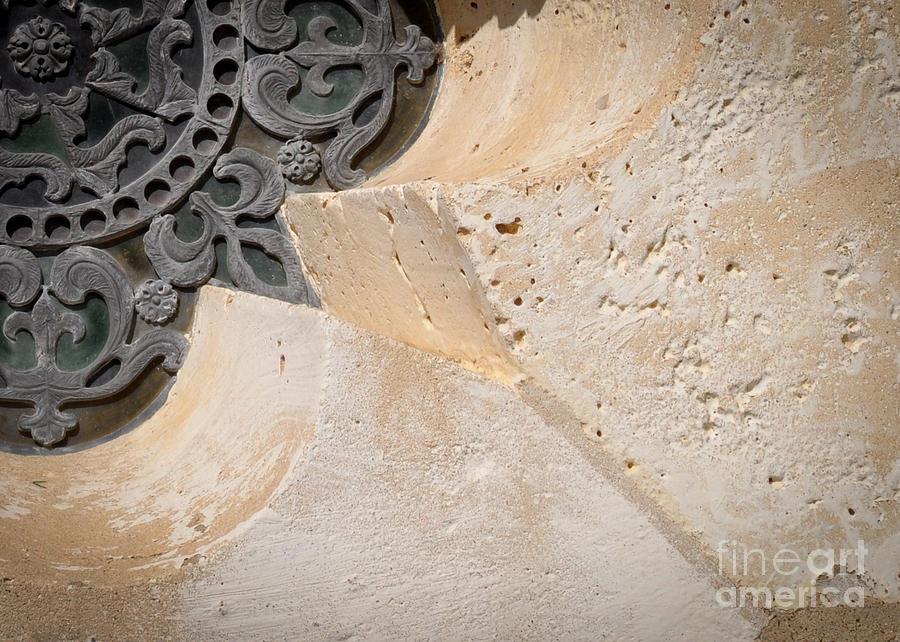 Limestone Photograph - DeGoyler Limestone by Cheryl McClure
