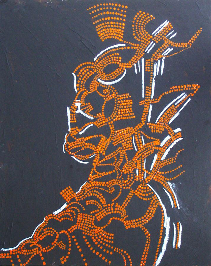 deity nhialic south sudan painting by gloria ssali