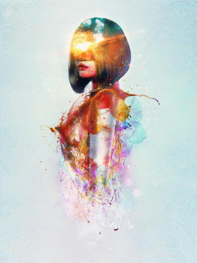 Surreal Digital Art - Deja Vu by Mario Sanchez Nevado