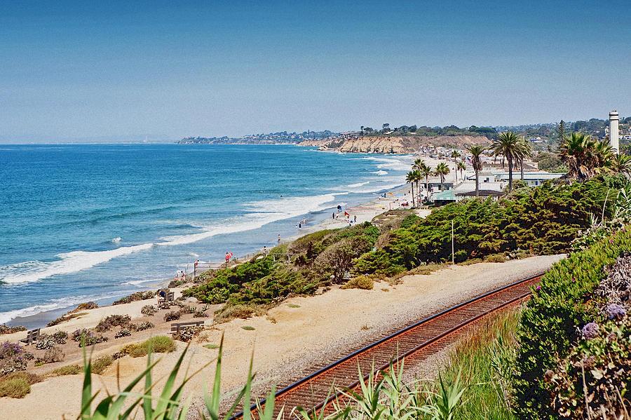 Del Mar Beach California Photograph By Susan Schmitz