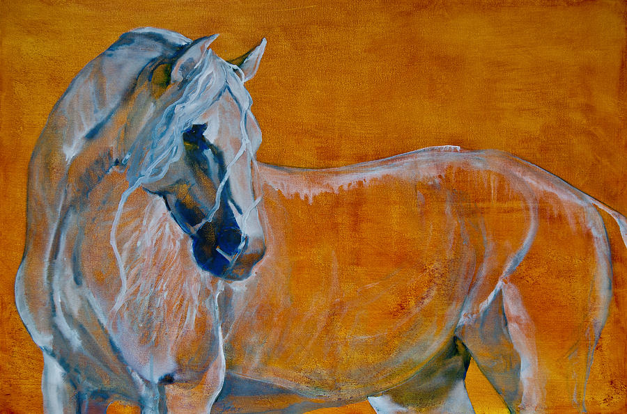 Horses Painting - Del Sol by Jani Freimann