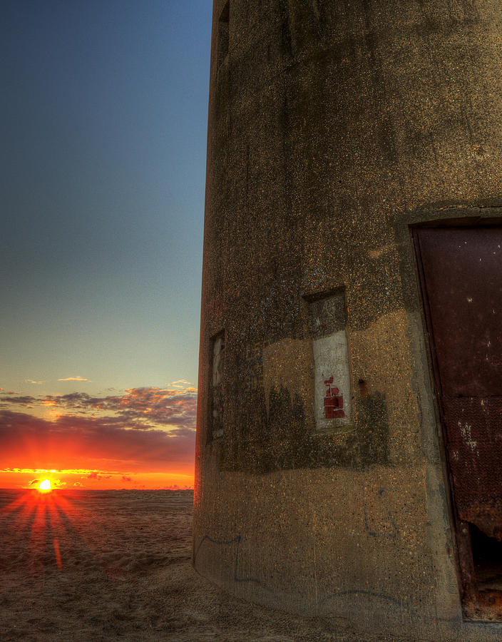 Lookout Tower Photograph - Delaware Lookout Tower Sunrise by David Dufresne