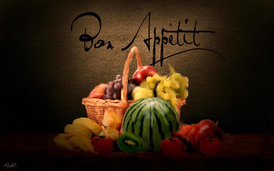 Bon Appetit Digital Art - Delectable Sight by Lourry Legarde