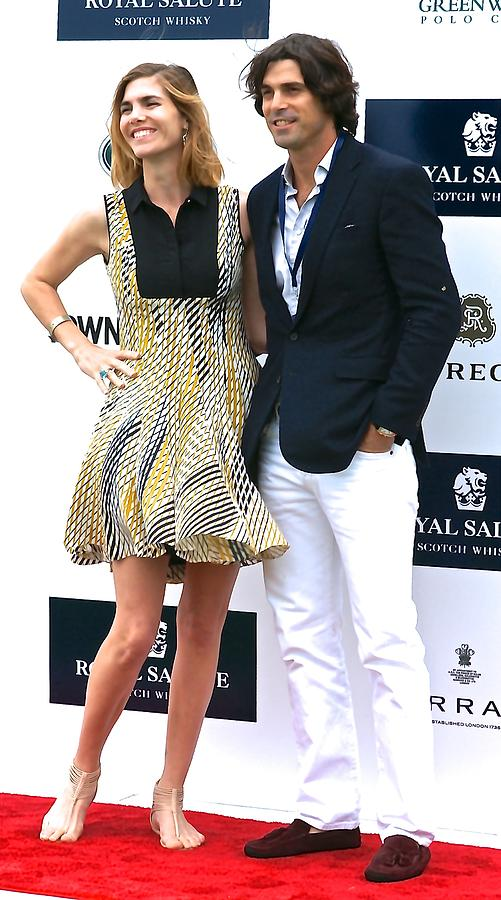 Delfina Blaquier and Nacho Figueras by Russ Considine
