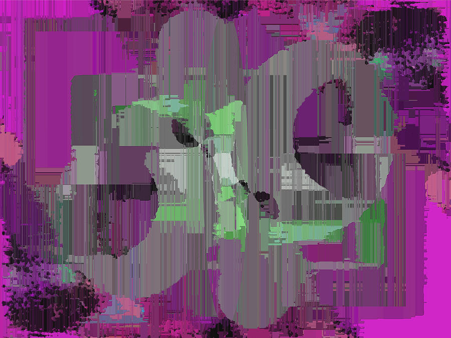 Abstract Digital Art - Deliberations by Tim Allen