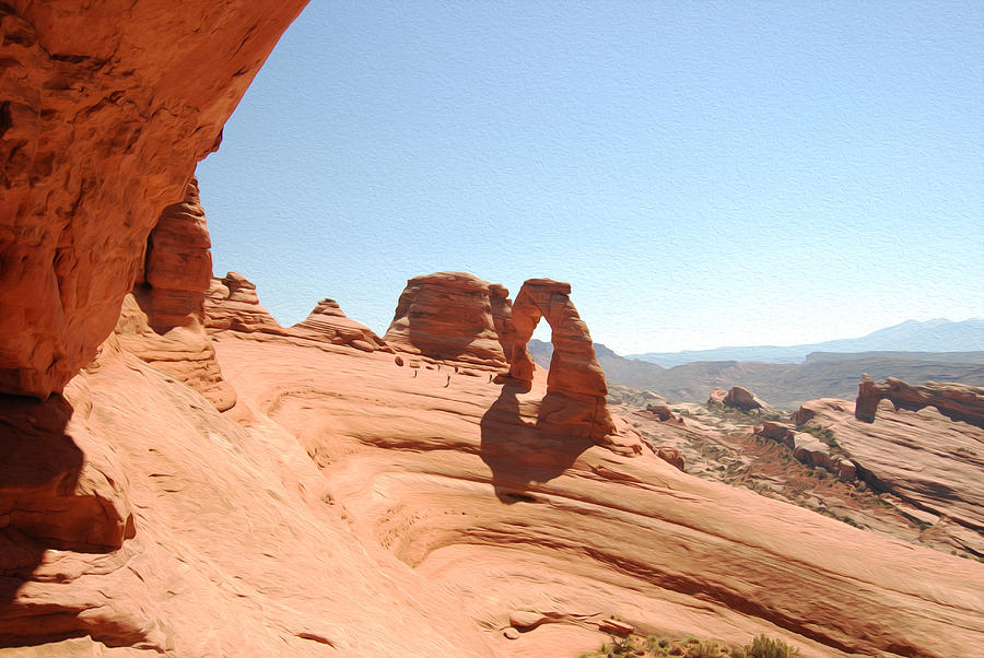 Delicate Arch Photograph - Delicate Arch 1 by Tracy Winter