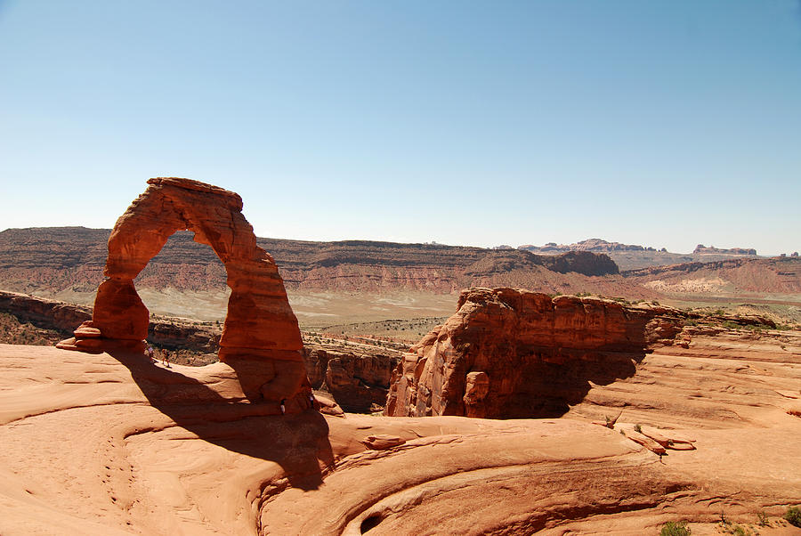 Delicate Arch Photograph - Delicate Arch 2 by Tracy Winter