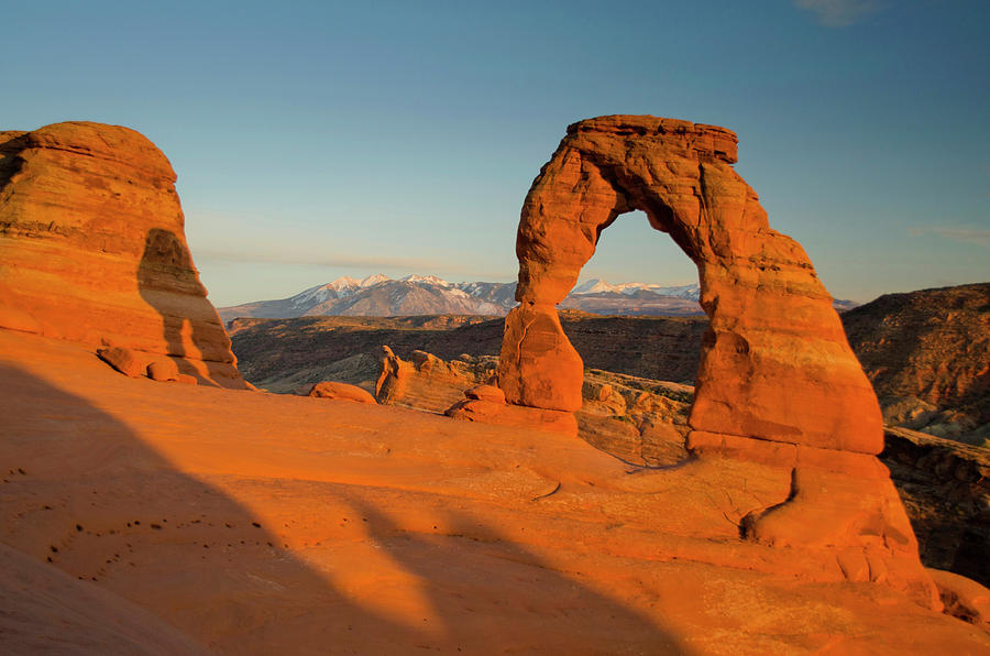Arch Photograph - Delicate Arch, Arches National Park by Roddy Scheer