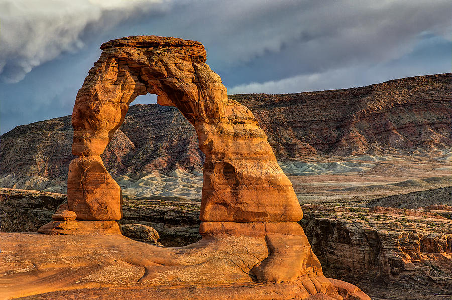 Arches National Park Photograph - Delicate Arch by Jeff Burton