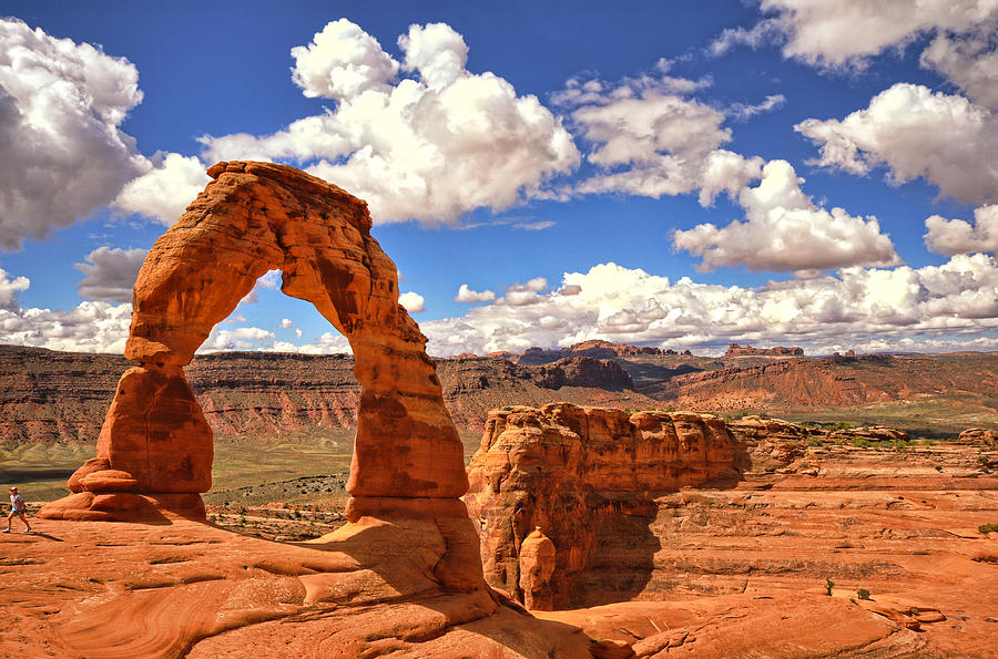 Delicate Arch Photograph - Delicate Arch - Arches National Park - Moab, Utah by Kevin Pate