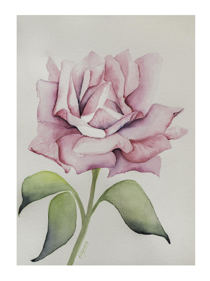 Flower Painting - Delicate Dance by Nancy Edwards
