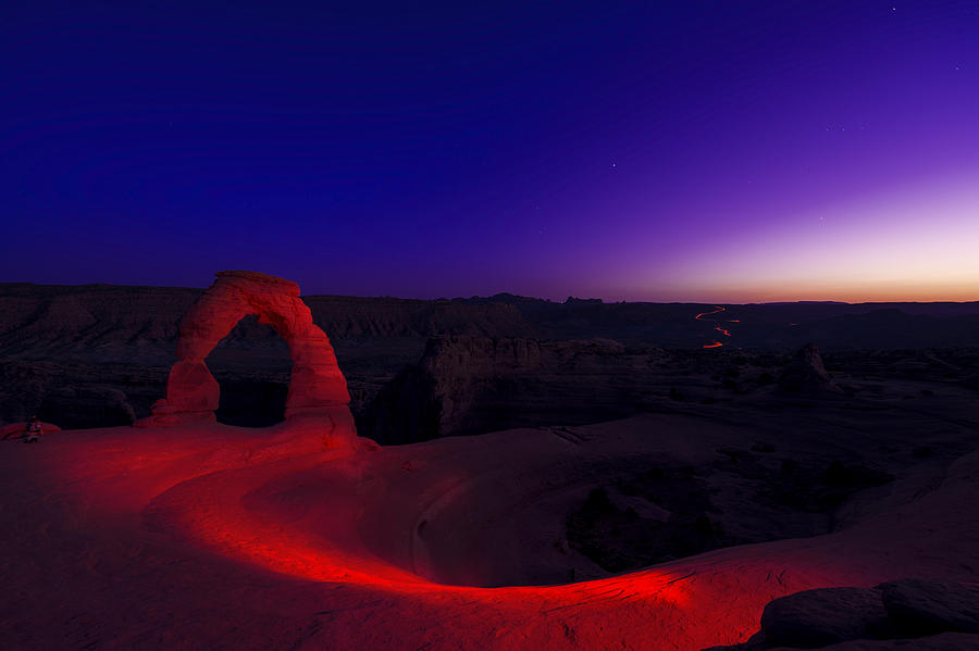 Utah Photograph - Delicate Twilight by Dustin  LeFevre