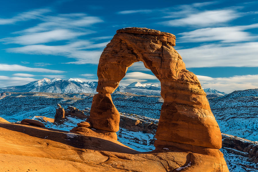 Arches National Park Photograph - Delicately Divine by Guy Schmickle