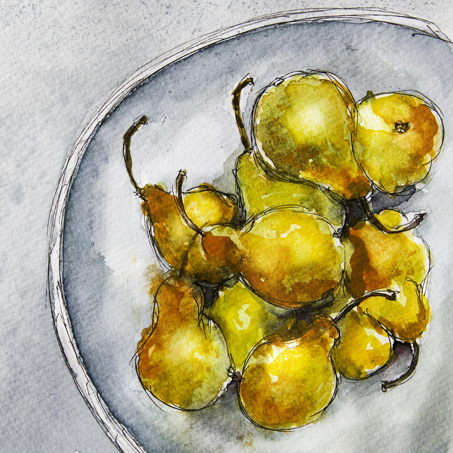 Delicious Pears by Linde Townsend