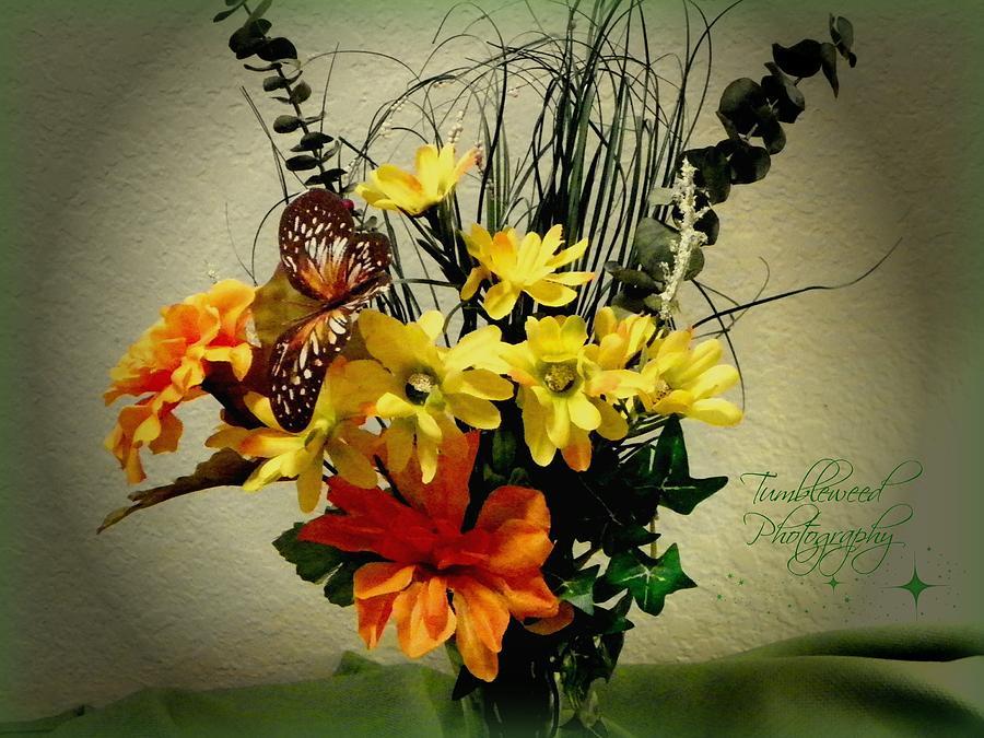 Flowers Photograph - Delightful by Carol Grenier