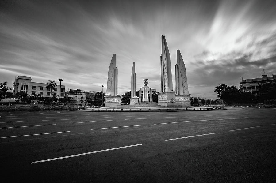 Democracy Monument Photograph by Weerakarn Satitniramai