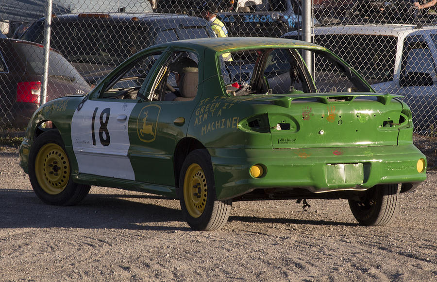 Demolition derby car photograph by jill morgan for Demolition wood for sale