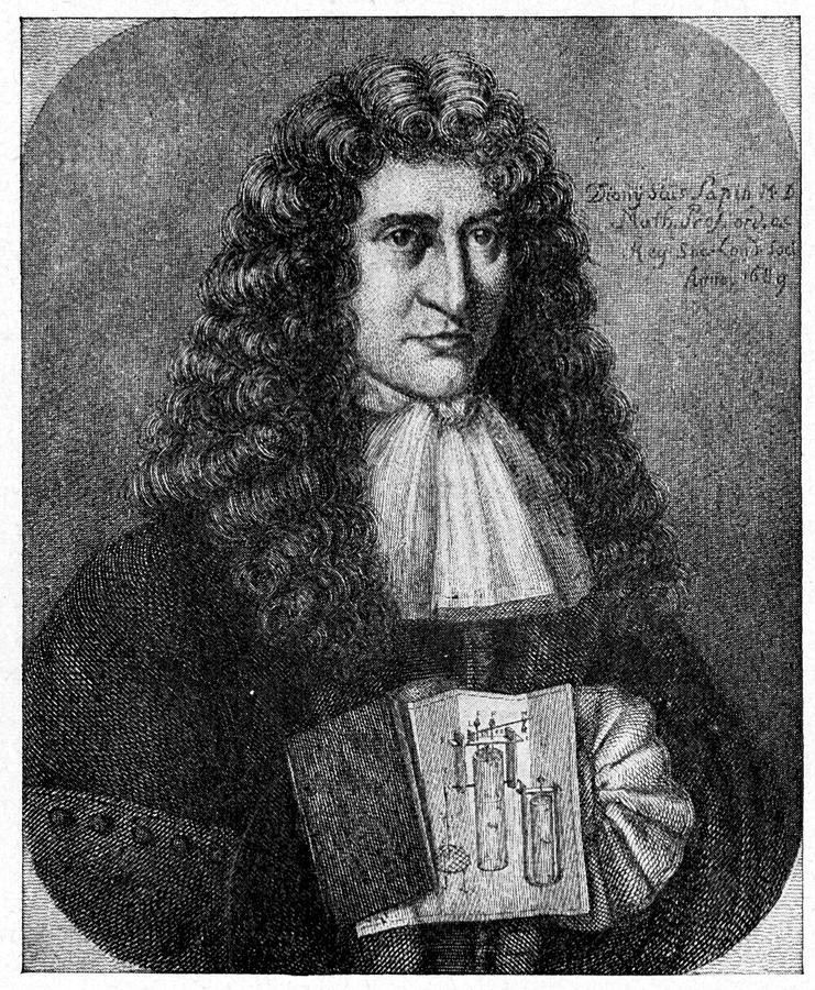 17th Century Photograph - Denis Papin by Cci Archives