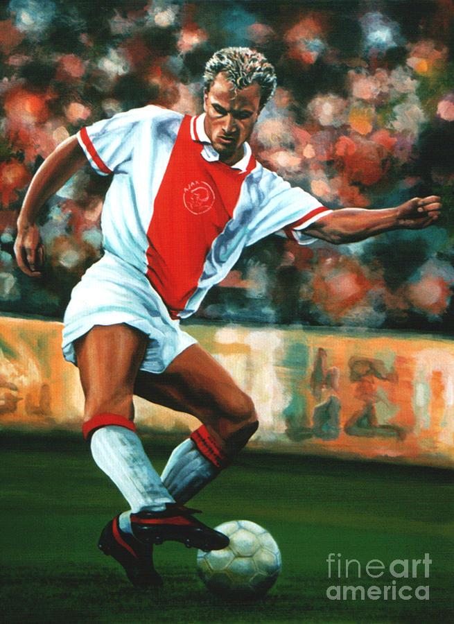 Dennis Bergkamp Painting - Dennis Bergkamp 2 by Paul Meijering