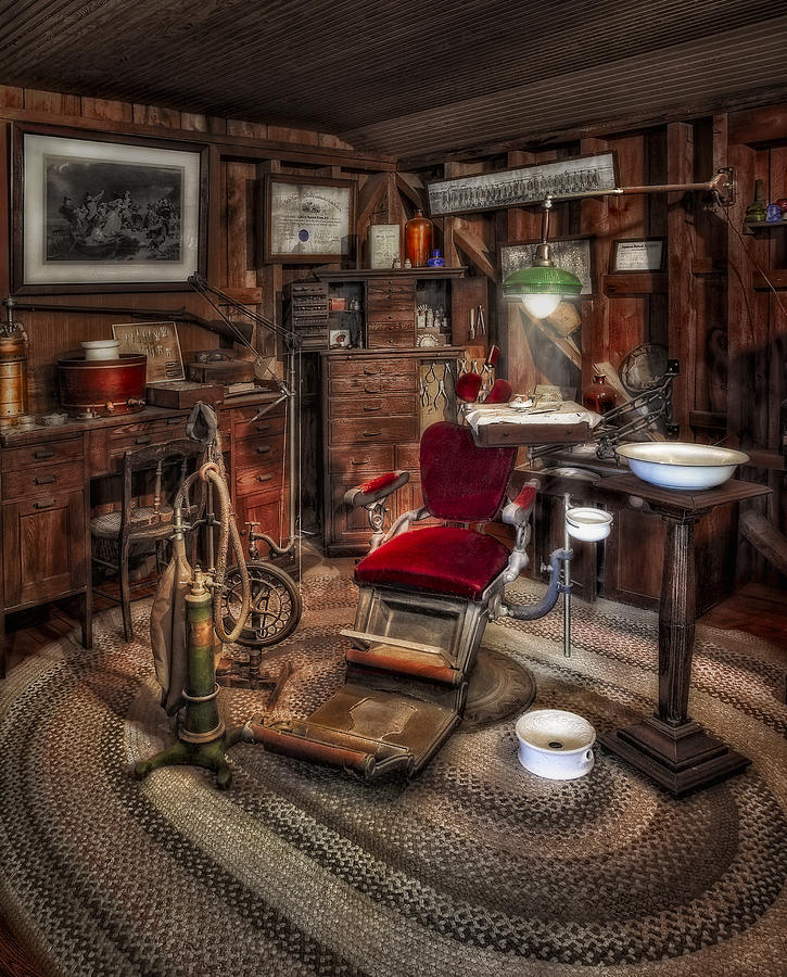Dr Photograph - Dentist Office by Susan Candelario