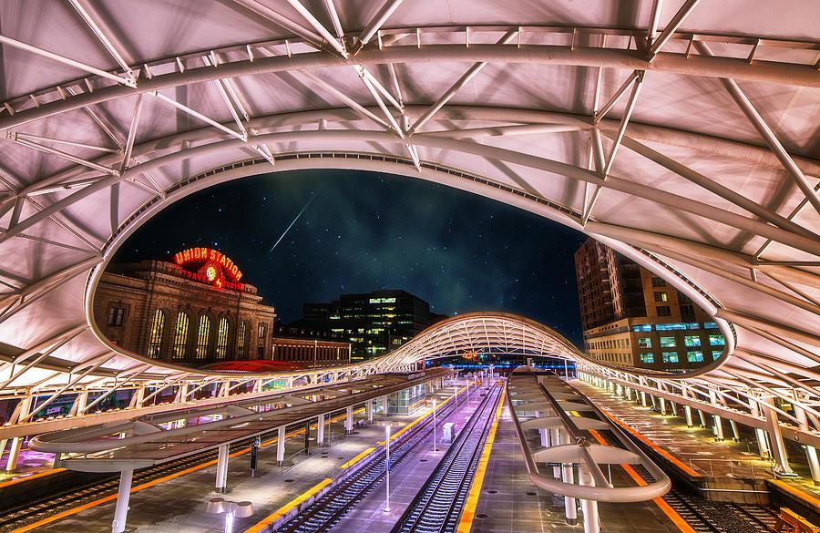 Denver Photograph - Denver Air Traveler by Darren  White