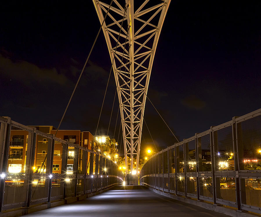 Bridge Photograph - Denver Chic by Stellina Giannitsi